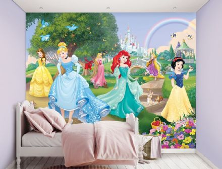 Photo wallpaper Disney Princess Garden